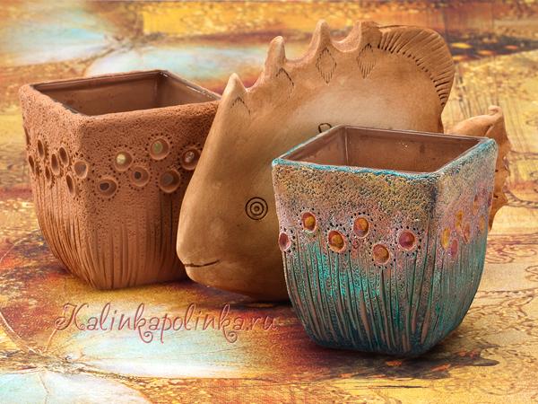 имитация керамики из полимерной глины фото мастер-класс