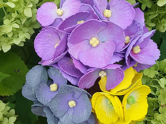 мастер-класс цветок гортензии из фоамирана