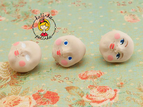 роспись лица куколки