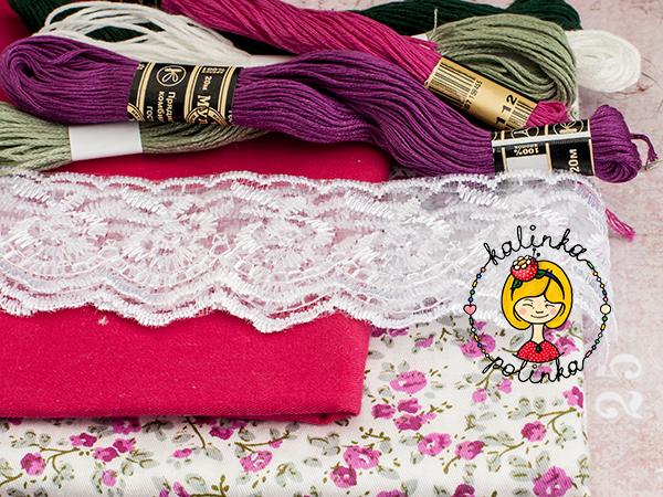 Материалы для пошива наряда Паола Рейна