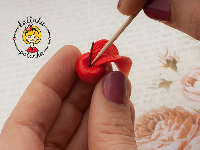 ягоды из пластики своими руками