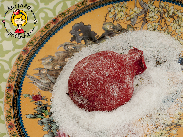 бусины с солью кожура граната