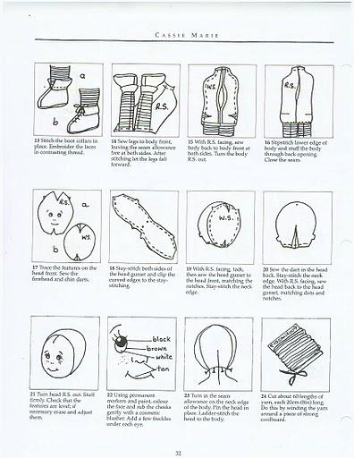 Tekstilnye kukly
