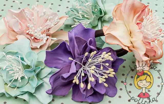 Цветы из фоамирана своими