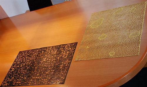 Beautiful Placemats? / wunderschöne Tischsets? ;-)