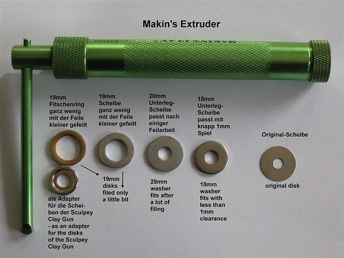 Extruder disks - Extruder-Scheiben