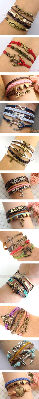 Прикольные браслеты и их схемы