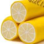 лимон из пластики