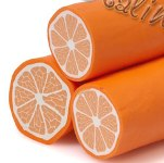 апельсин из пластики