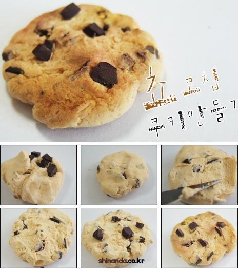 печенье из полимерной глины