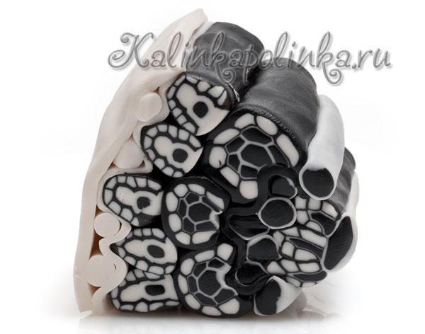 фото 4 мастер-класс цветы из полимерной глины