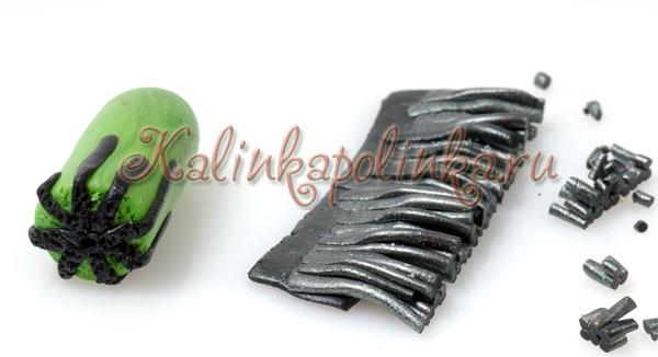 мак из полимерной глины мастер-класс