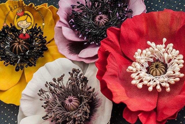 Огромные цветы из фоамирана
