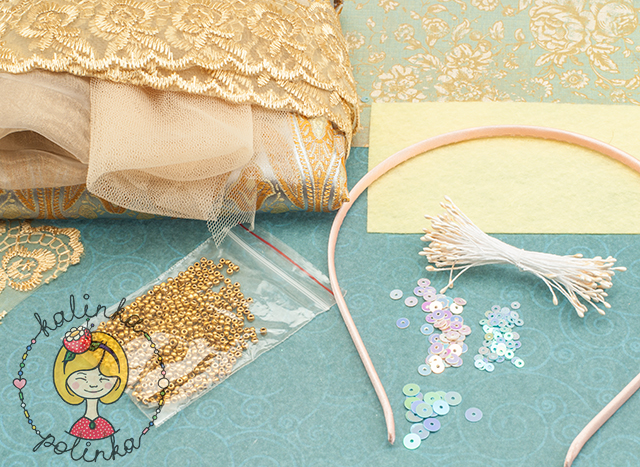 товары для рукоделия необходимые для изготовления ободка