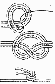 Вяжем узлы на леске