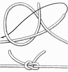 Как закрепить узлы на браслете