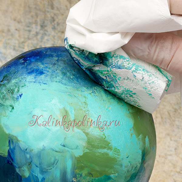 тонировка глины краской мастер-класс