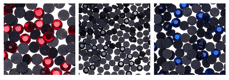 Стразы термоклеевые с прочным клеевым слоем